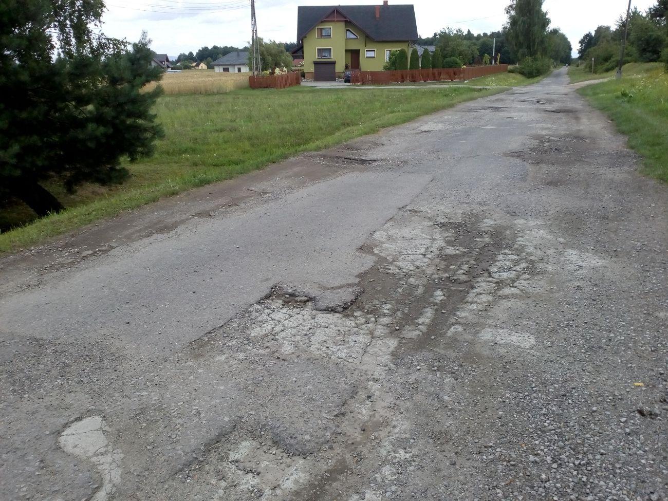 Fatalna droga przy rurociągu: jest plan B