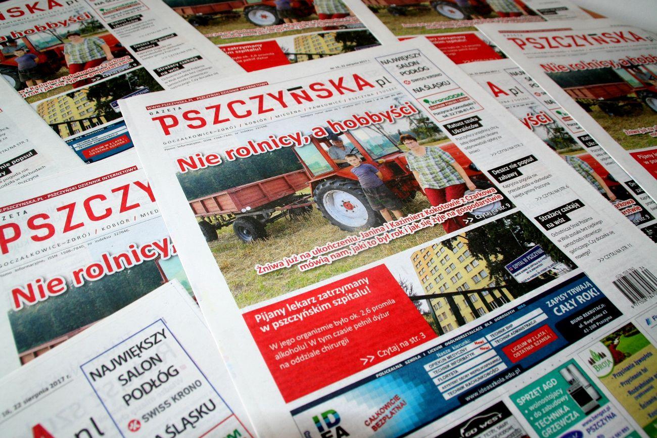 """Polecamy nowy numer """"Gazety Pszczyńskiej""""! Od dziś w sklepach"""