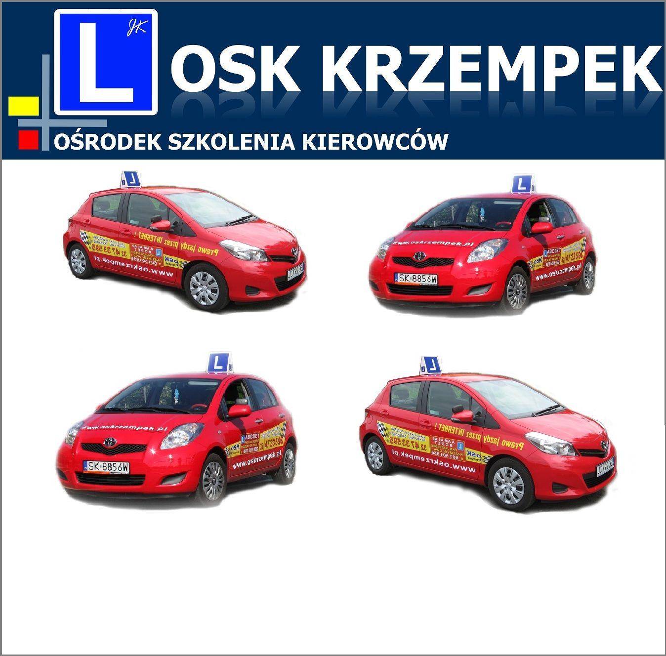 Art. spons. Konkurs w OSK Krzempek!
