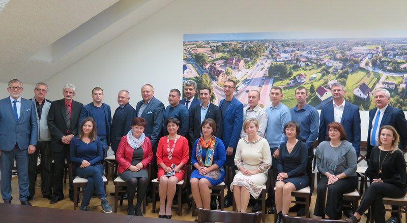 Samorządowcy z Ukrainy gościli w Pawłowicach