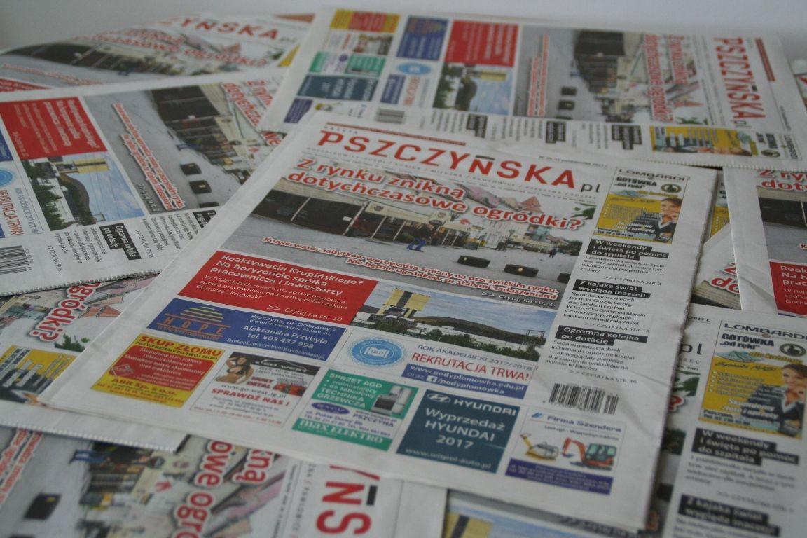 Gazeta Pszczyńska - nowy numer,  a w nim…