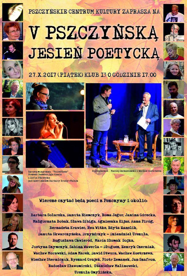V Pszczyńska Jesień Poetycka