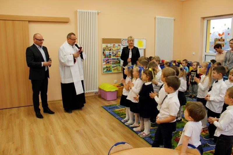 Mogli zobaczyć nowe przedszkole w Porębie