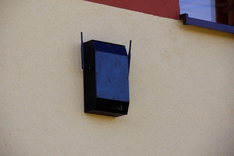 Czujniki monitorują jakość powietrza w całej gminie