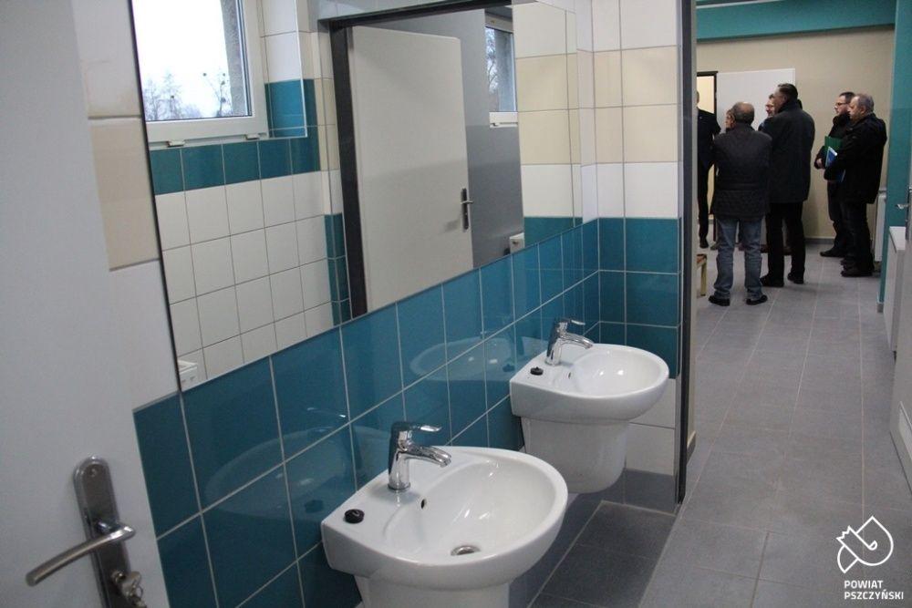 Wyremontowali szatnie i łazienki na basenie przy PZS nr 2