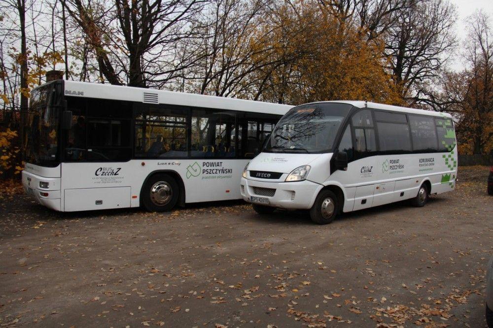 Zmiany w rozkładzie jazdy powiatowych autobusów