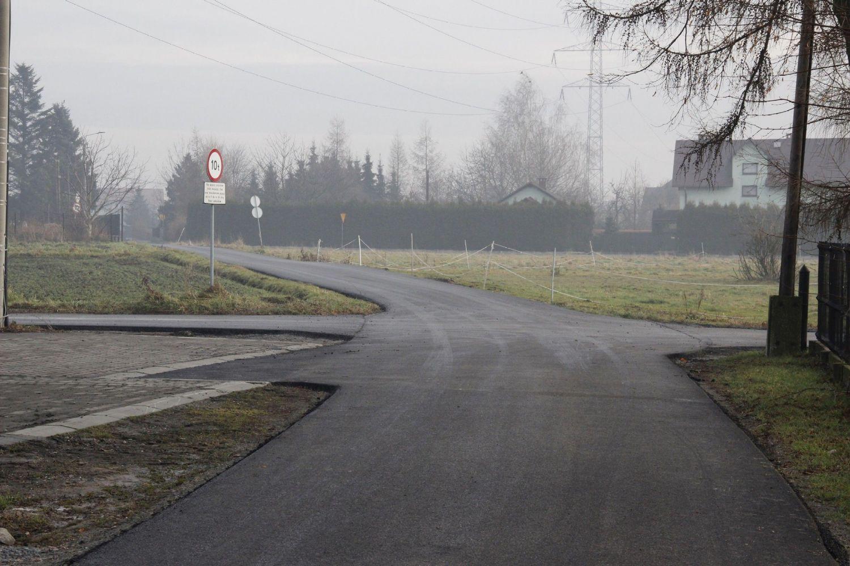 Jest już asfalt na ul. Kawalerzystów w Pszczynie