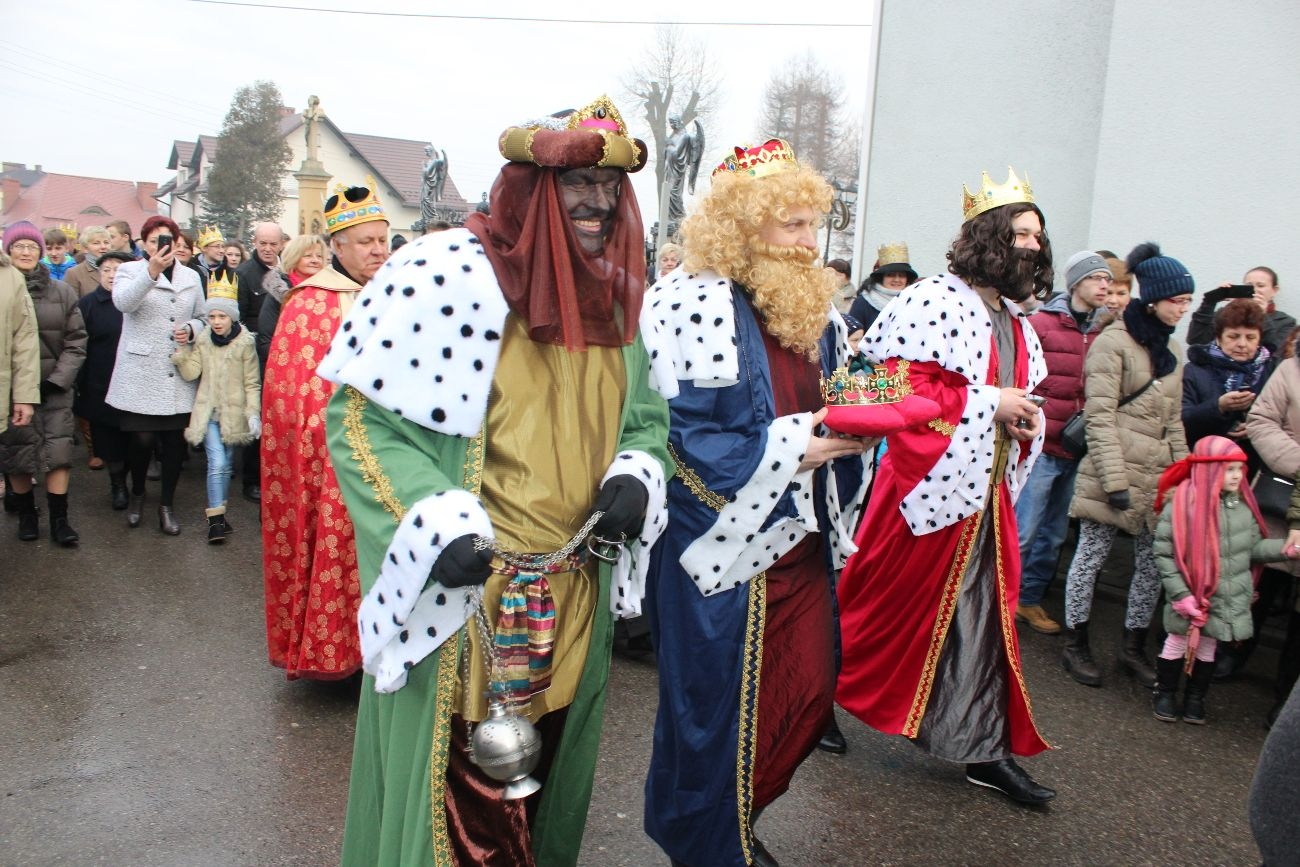 Orszak Trzech Króli przeszedł ulicami Woli