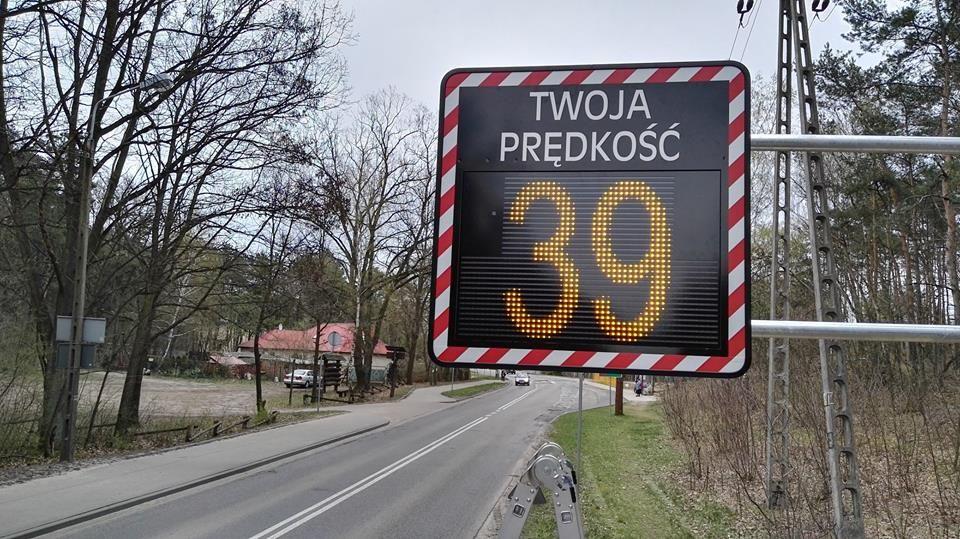 Na drogach pojawią się mierniki prędkości
