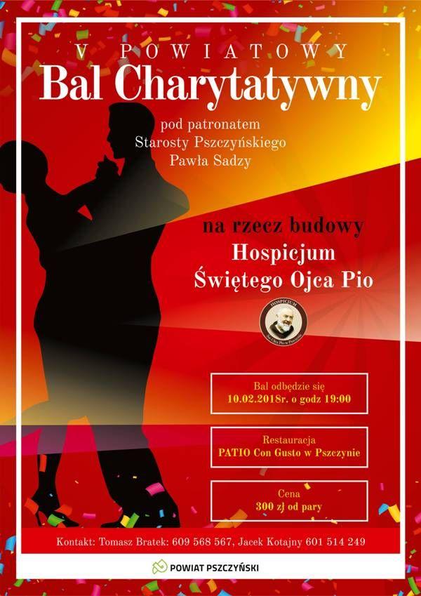 Bal dla hospicjum z udziałem Mariusza Kałamagi