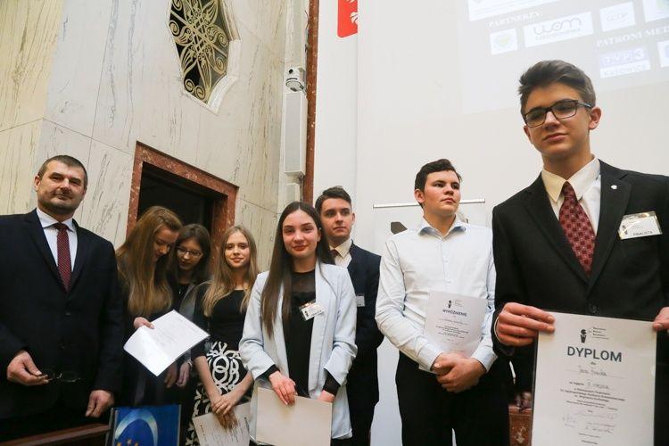 Uczeń z Pszczyny zajął III miejsce w konkursie i pojedzie do Brukseli