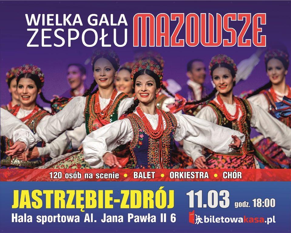 Zespół Mazowsze na koncercie w Jastrzębiu. Wygraj zaproszenia!