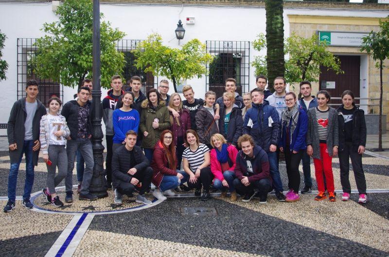 Uczniowie Samochodówki wrócili ze stażu w Hiszpanii