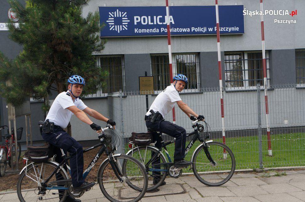 Policjanci na rowery
