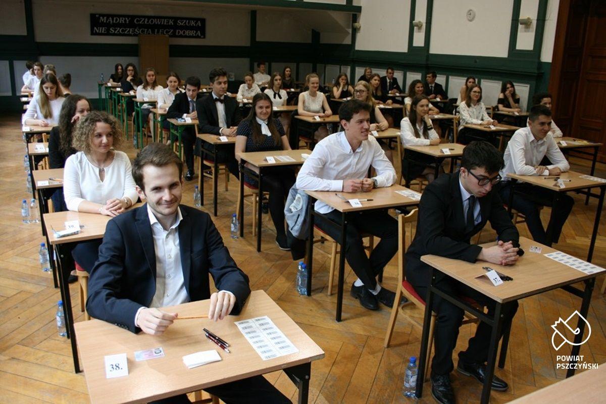Ponad 80% uczniów z powiatu pszczyńskiego zdało maturę