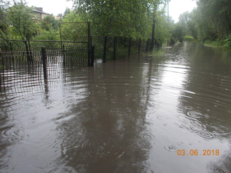Intensywne opady deszczu: ponad 100 interwencji