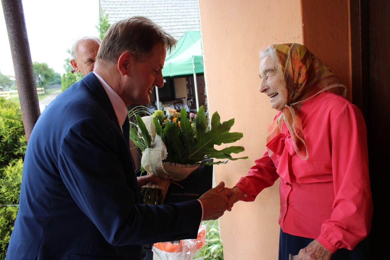 Mieszkanka Woli świętowała 99. urodziny