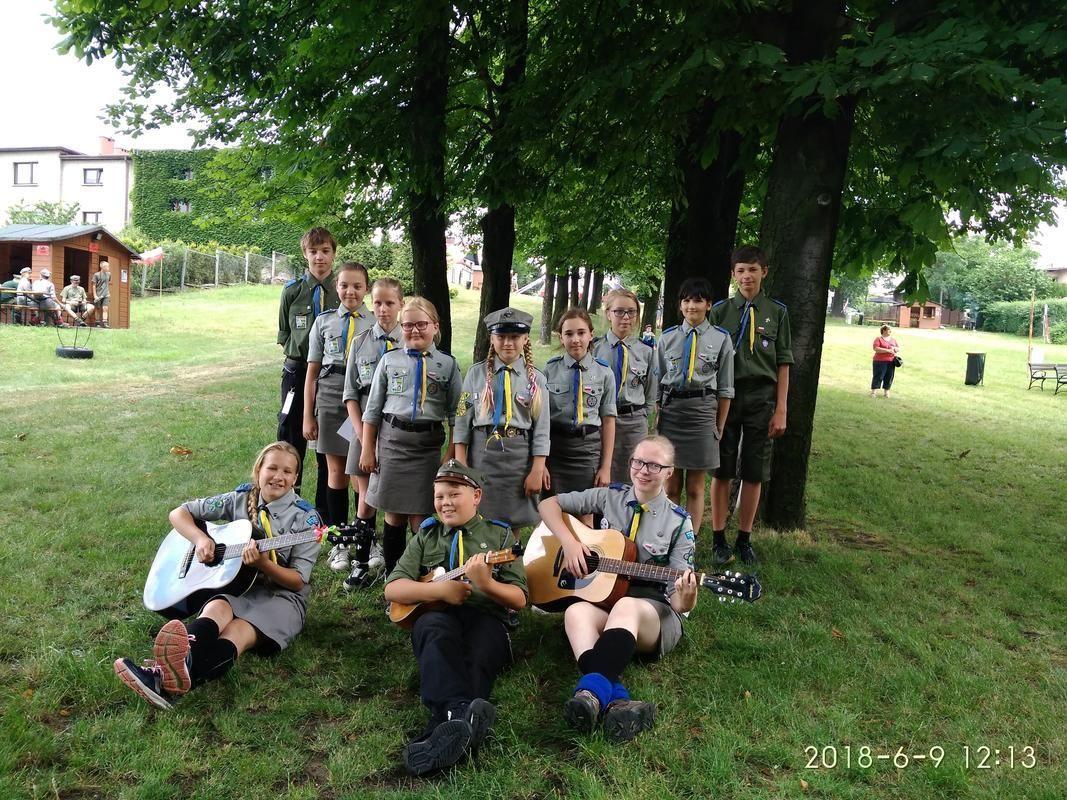 Pszczyńska drużyna druga na festiwalu harcerskim