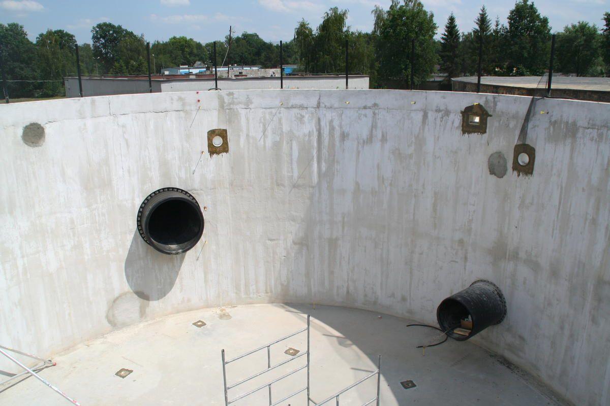 Zbiorniki nurkowe na ukończeniu