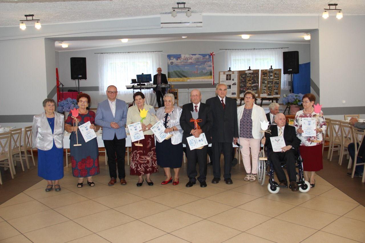 Koło emerytów z Brzeźc świętowało 40-lecie działalności