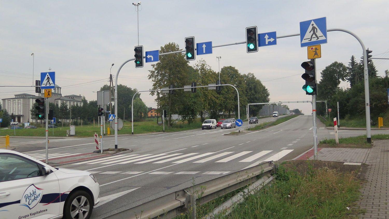 Warszowice: przejście dla pieszych w nowym miejscu
