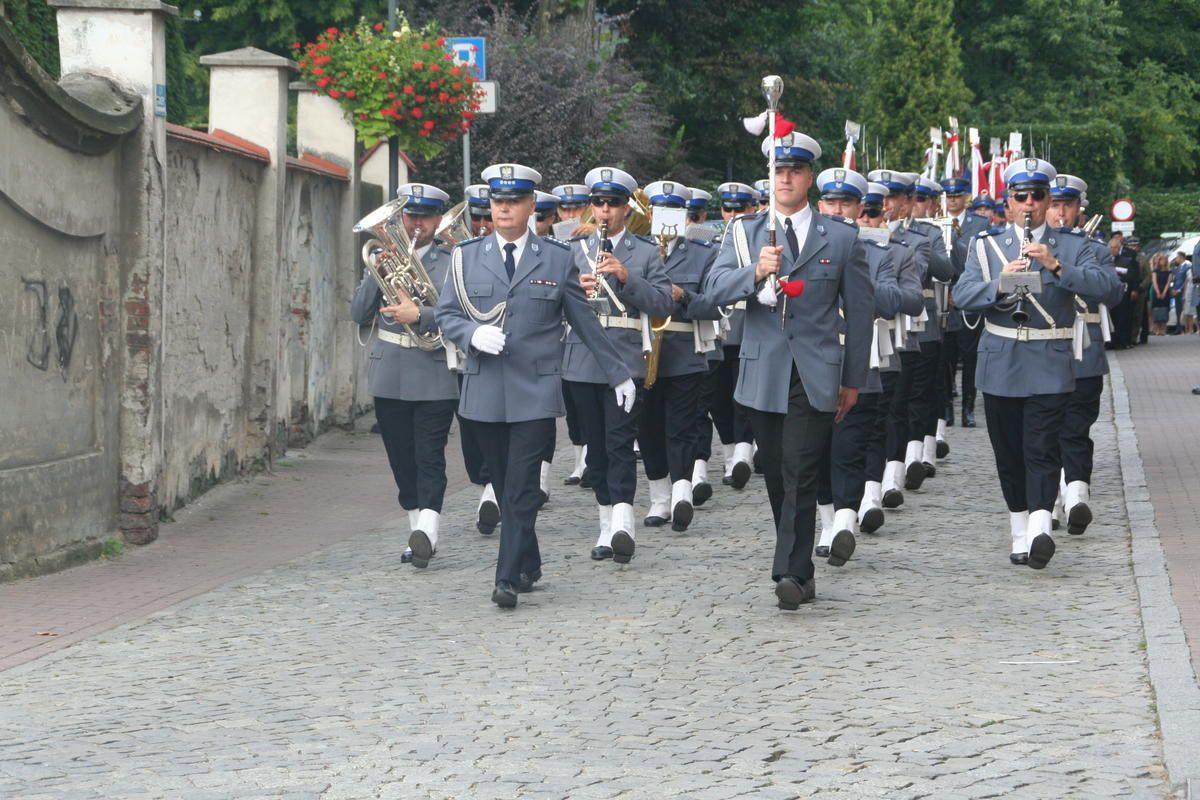 Śląscy policjanci świętowali w Pszczynie