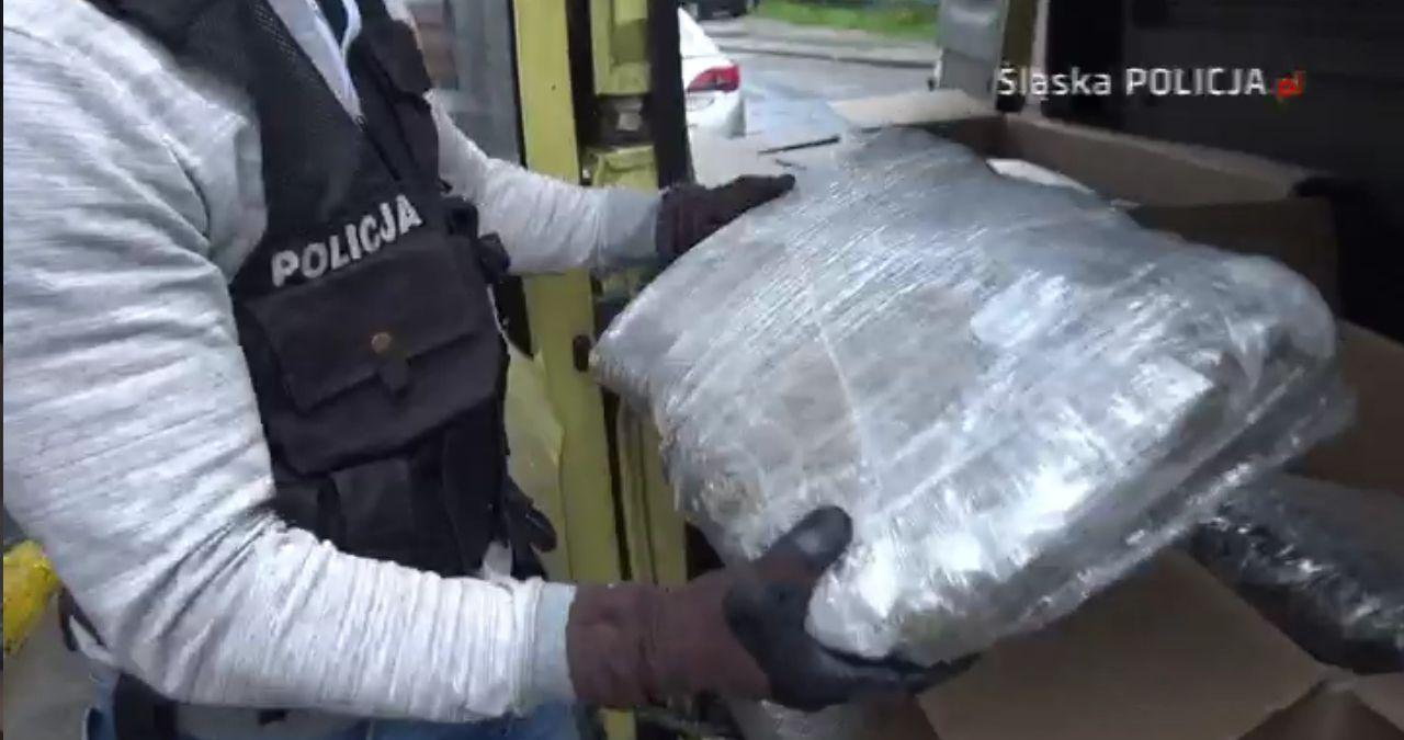 Przejęli 130 kg marihuany. Jej wartość to 4 mln zł!