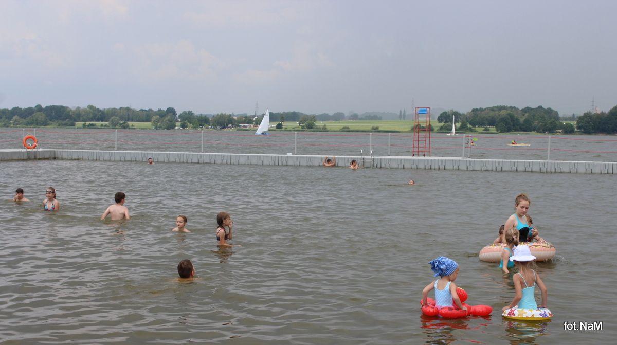 Kąpielisko w Łące zamknięte z powodu sinicy