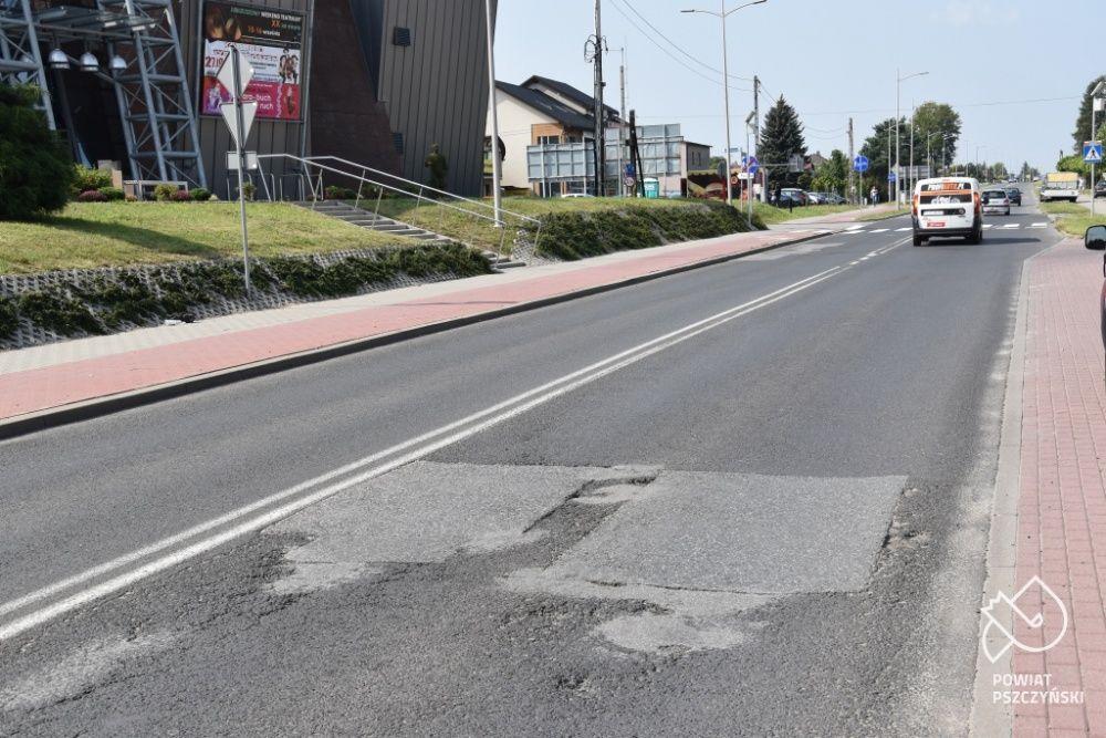 Ulica Wodzisławska w Pawłowicach do remontu