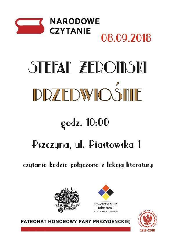 Narodowe czytanie na Piastowskiej