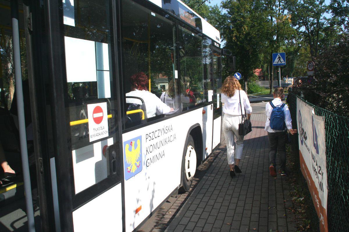 Znów jeżdżą gminne autobusy