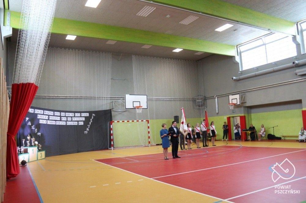 Kobiór ma pierwszą pełnowymiarową salę gimnastyczną