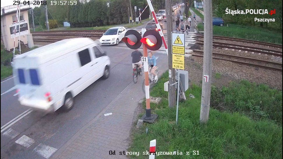Niebezpiecznie na przjeździe kolejowym na ul. Bieruńskiej