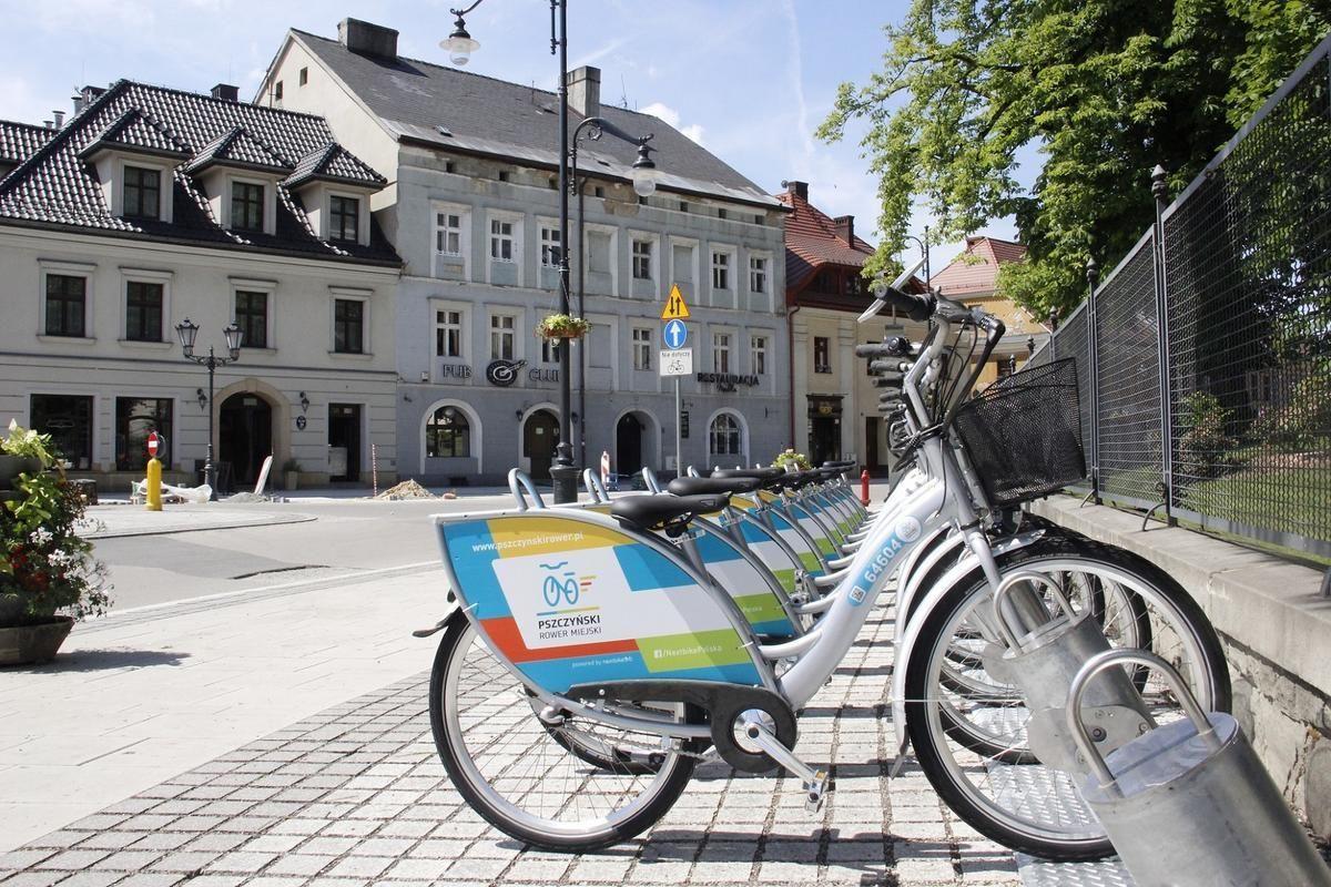 8000 wypożyczeń roweru miejskiego