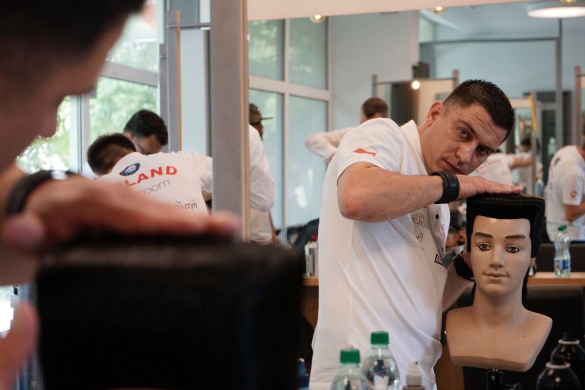 Pawłowiczanin wśród najlepszych fryzjerów na świecie