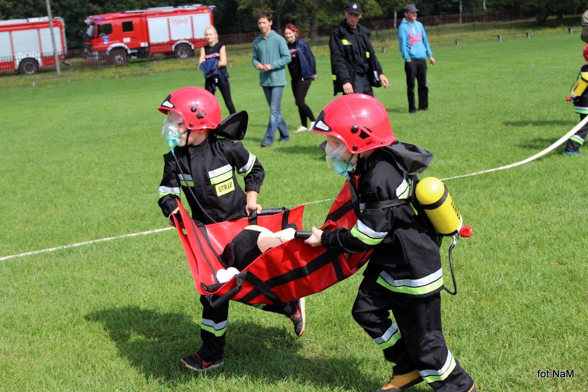 Strażacy rywalizowali