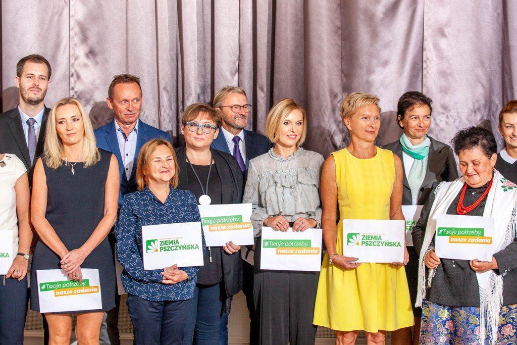 Kandydaci KWW Ziemia Pszczyńska zaprezentowani