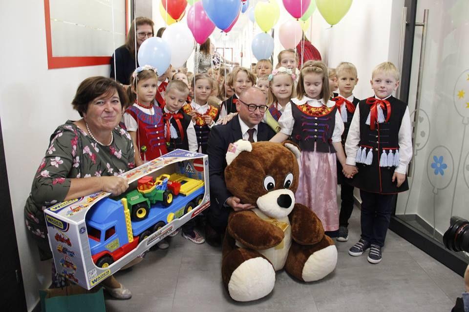 Nowe przedszkole na os. Piastów oficjalnie otwarte
