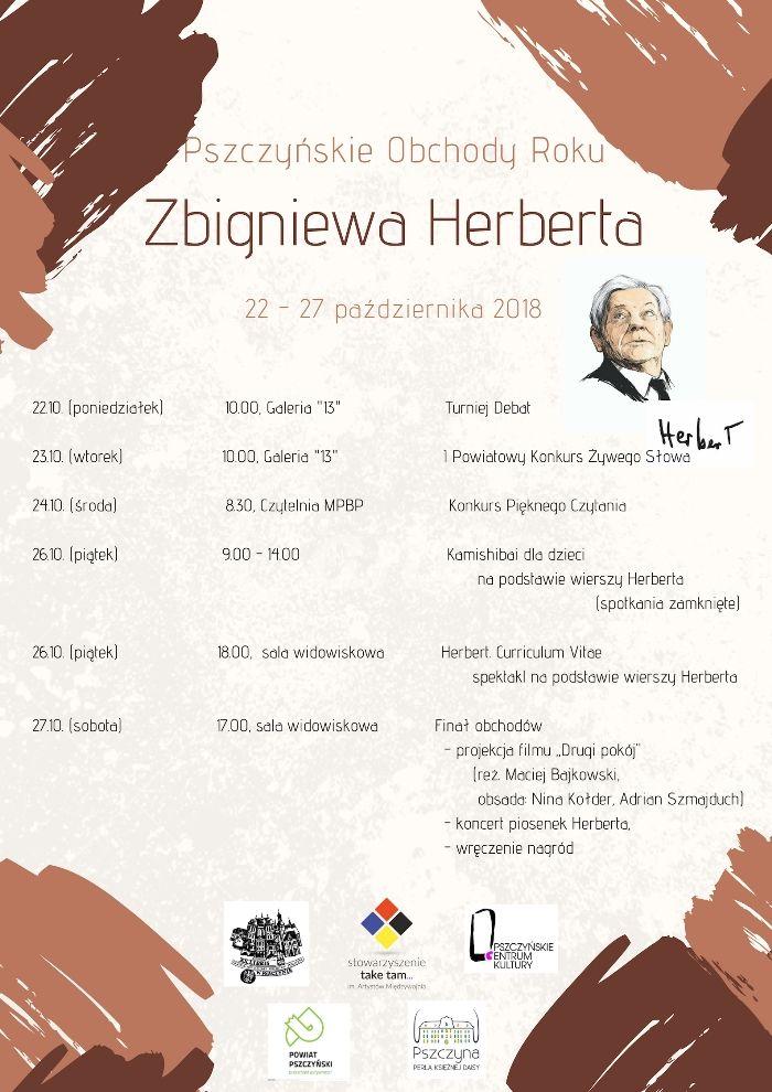 Pszczyńskie Obchody Roku Herberta!