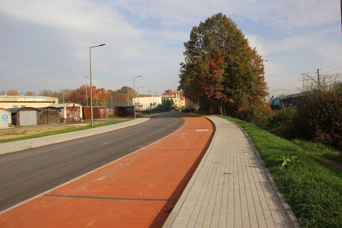 Nowa droga łącząca ul. Sokoła z ul. Bogedaina gotowa