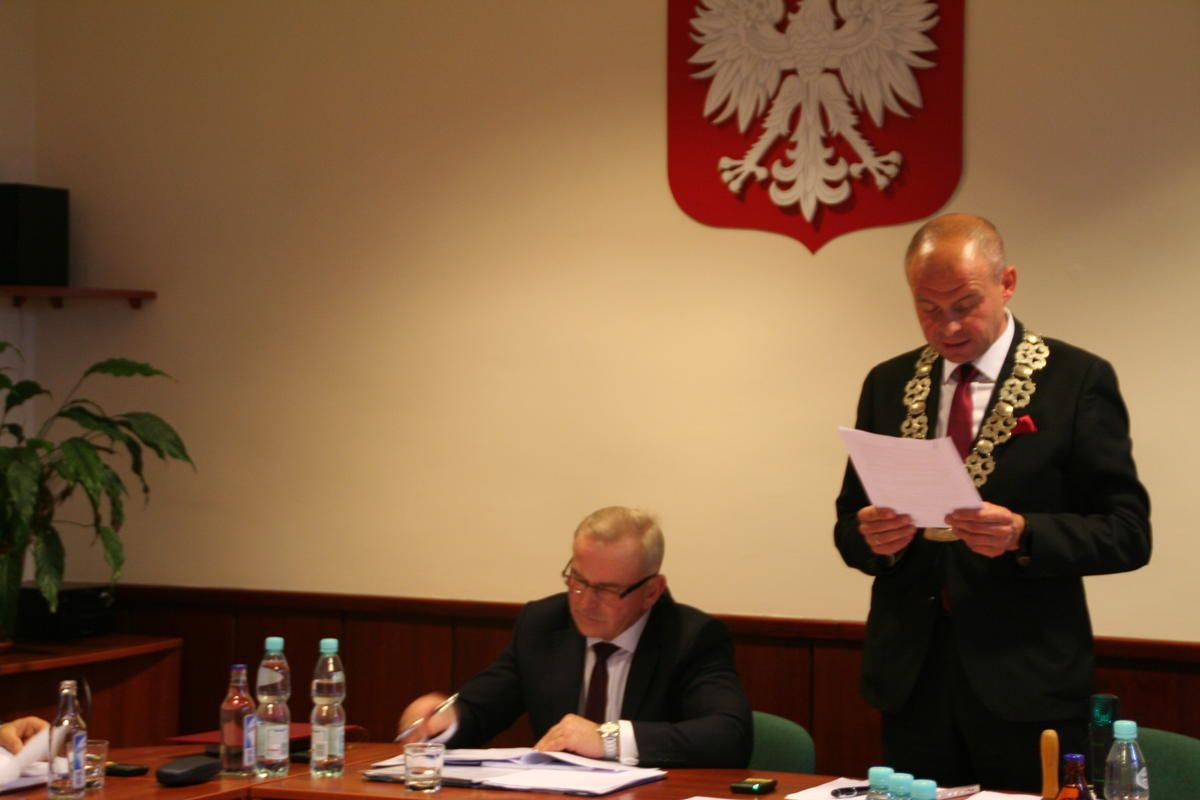 Szymon Sekta nowym przewodniczącym Rady Gminy Suszec