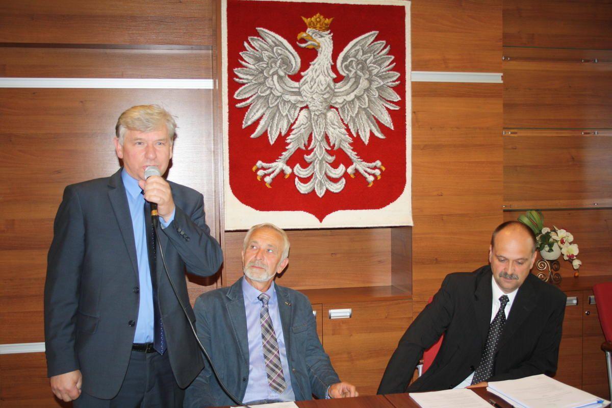 W Kobiórze przewodniczącym ponownie Sawicki