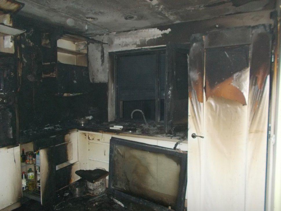 Pożar w domu jednorodzinnym w Gilowicach
