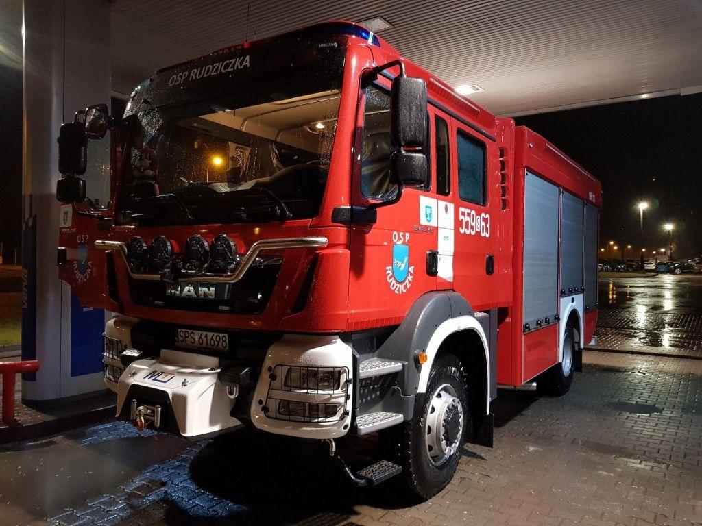 Strażacy z Rudziczki mają nowy samochód
