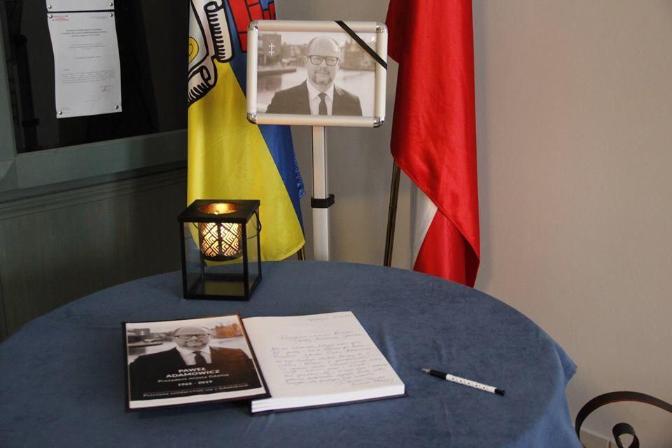 Tragedia w Gdańsku: złóż kondolencje w ratuszu