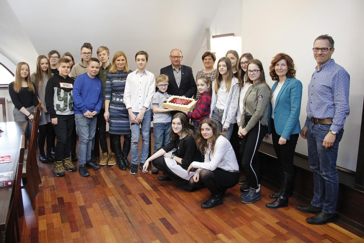 Wolontariusze WOŚP spotkali się w urzędzie