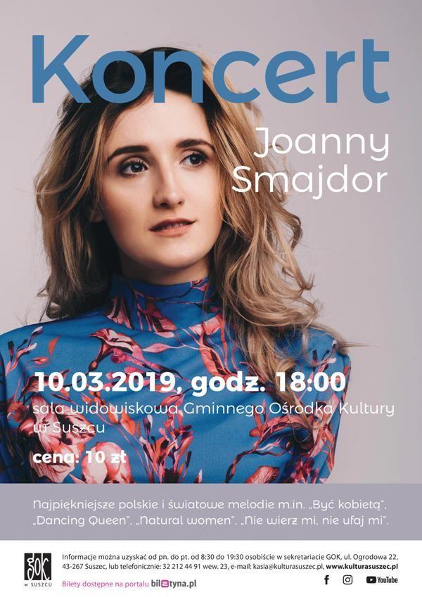 Koncert Joanny Smajdor z okazji Dnia Kobiet