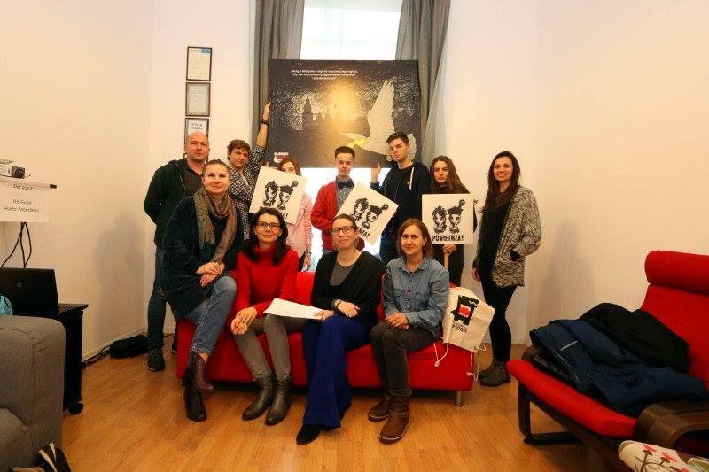 Pszczyńscy działacze dołączyli do Polskiego Alarmu Smogowego