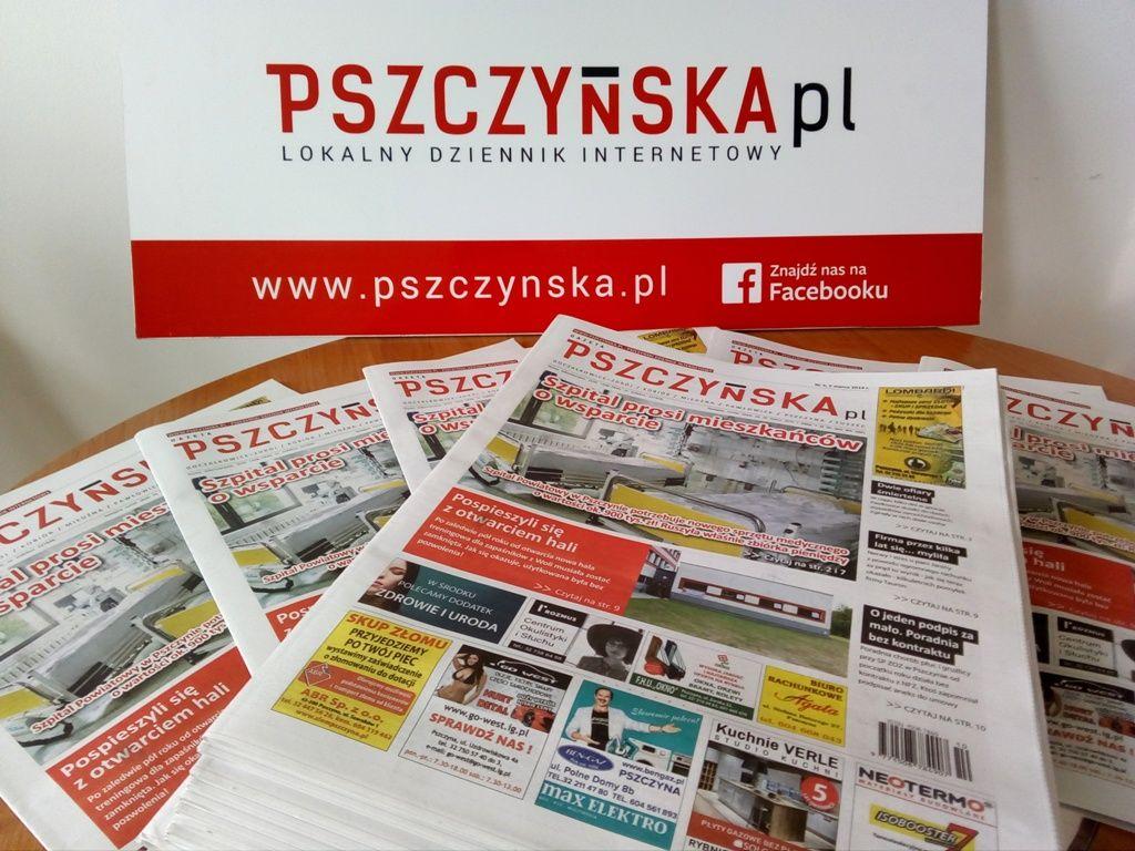 Gazeta Pszczyńska już w sklepach. Miłej lektury!