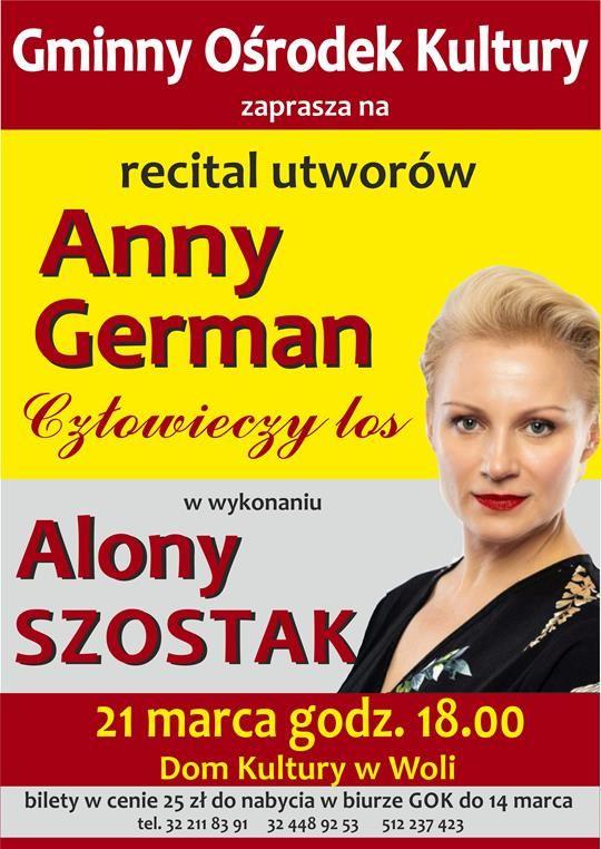 Z piosenkami Anny German